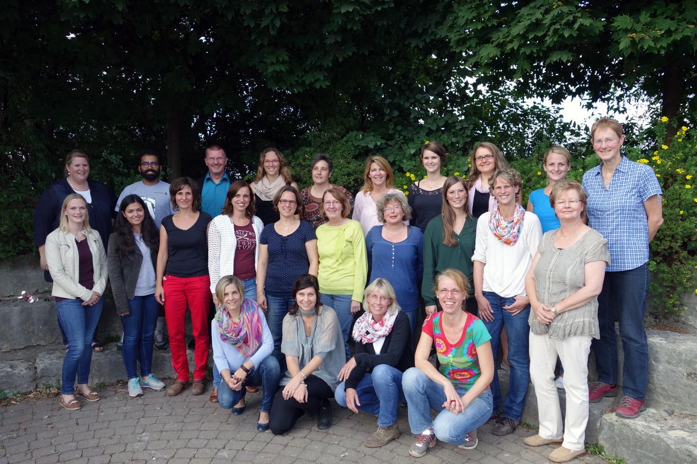 Kollegium GGS im Kirchfeld 2014/15
